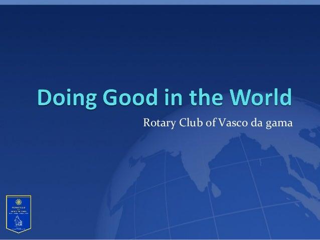 Rotary Club of Vasco da gama