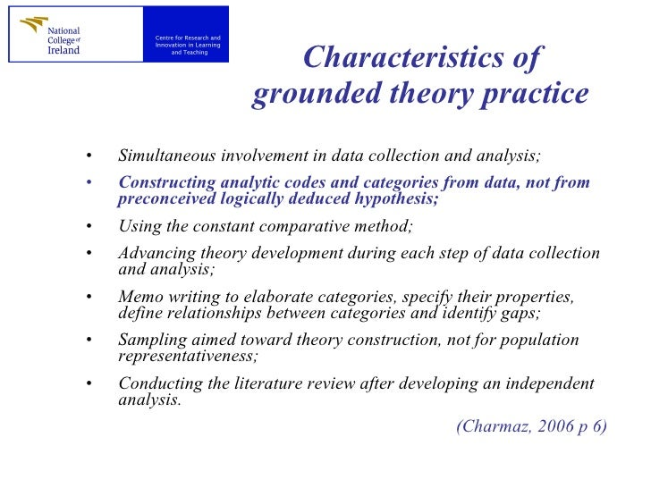 role literature review grounded theory
