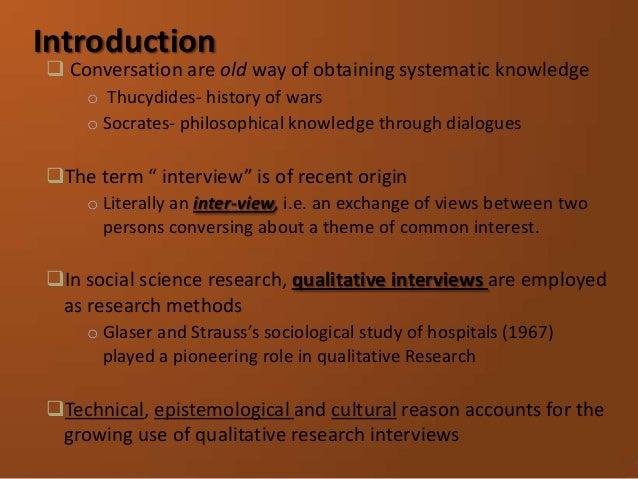 Doing interview Slide 3