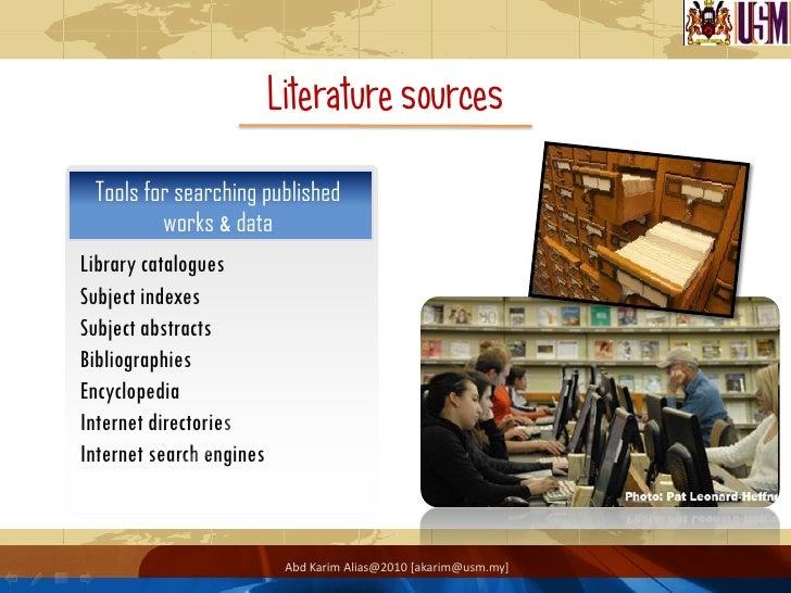 Literature review internet