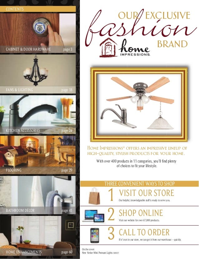 Home decorating products catalog - Home decor ideas