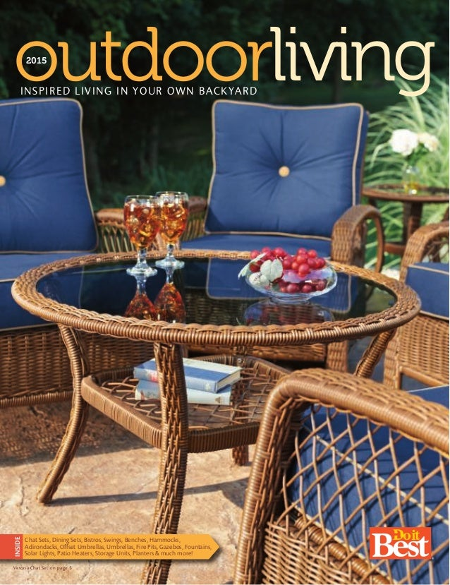 Do it best outdoor living catalog for Best home catalogs