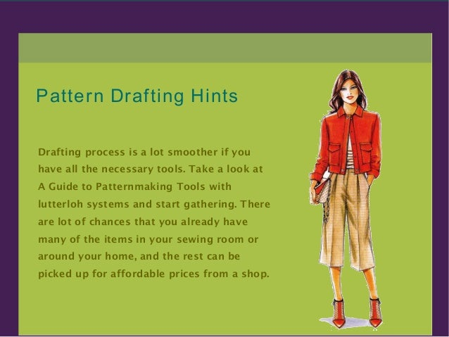 Do it yourself fashion clothing pattern making 2 solutioingenieria Gallery