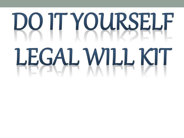 Do it yourself legal will kit do it yourself legal will kit this state of the art online legal will is the most efficient comprehensive legal will solutioingenieria Choice Image