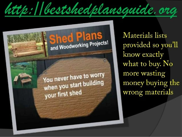 Do It Yourself Home Design: Do It Yourself Shed Plans For Free
