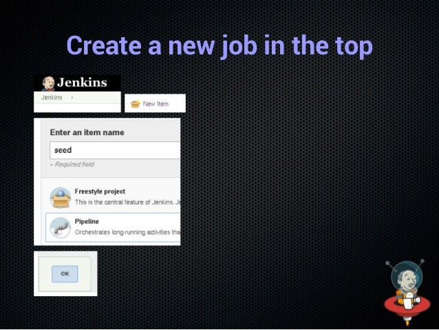 Rename the job