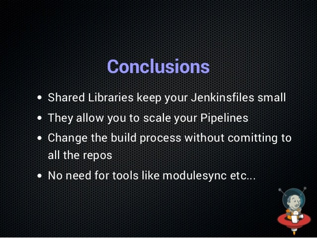 Jenkins Shared Libraries Workshop