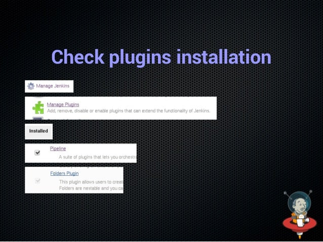 Check plugins installation