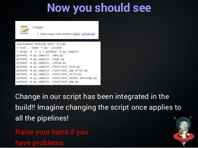 Push the file $gitaddvars/compilePython.groovy $gitcommitm'addacompilePythonstep' $gitpush