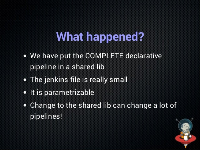 """Change the Pipeline pythonPipeline{ githubproject=""""voxpupuli/puppetboard"""" } Save & run"""