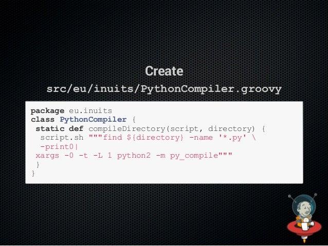 Push the files $gitaddsrc/eu/inuits/PythonCompiler.groovy $gitaddvars/compilePython.groovy $gitcommitm'addPyth...