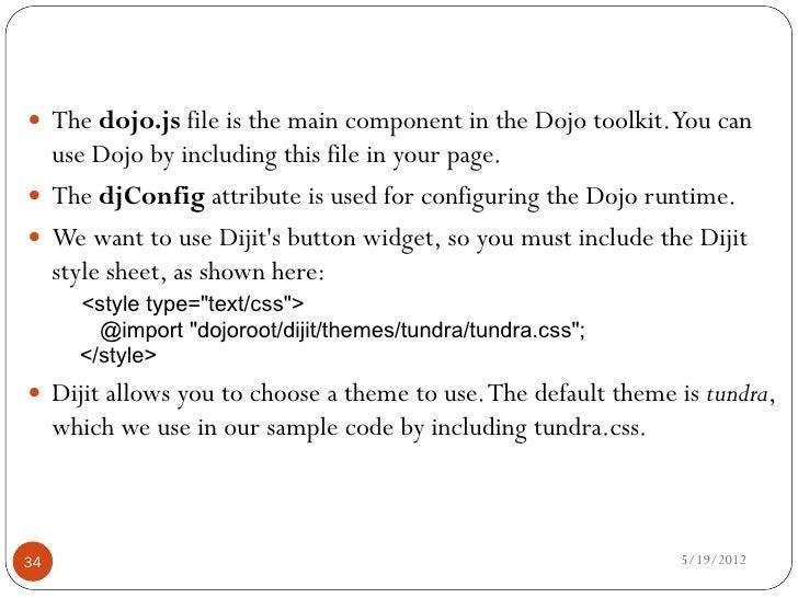 S pdf dojo tutorial
