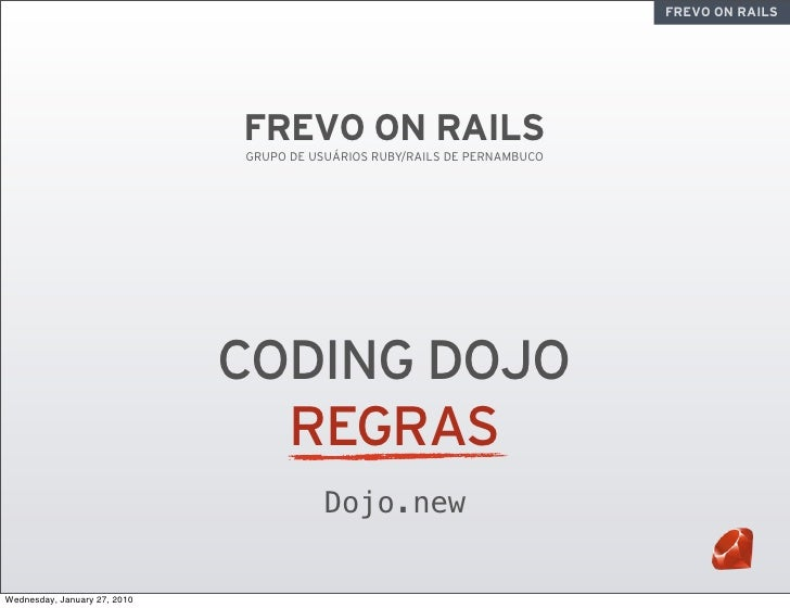 FREVO ON RAILS                                   FREVO ON RAILS                               GRUPO DE USUÁRIOS RUBY/RAILS...