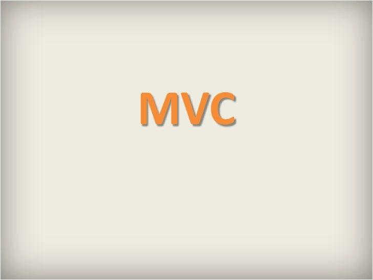 MVC<br />