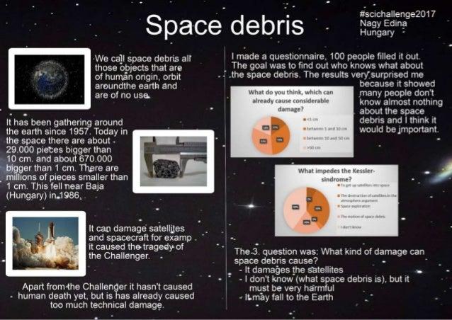 Space debris #scichallenge2017