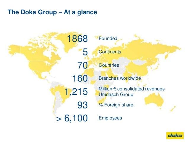 Doka unternehmenspräsentation 2016_en Slide 2