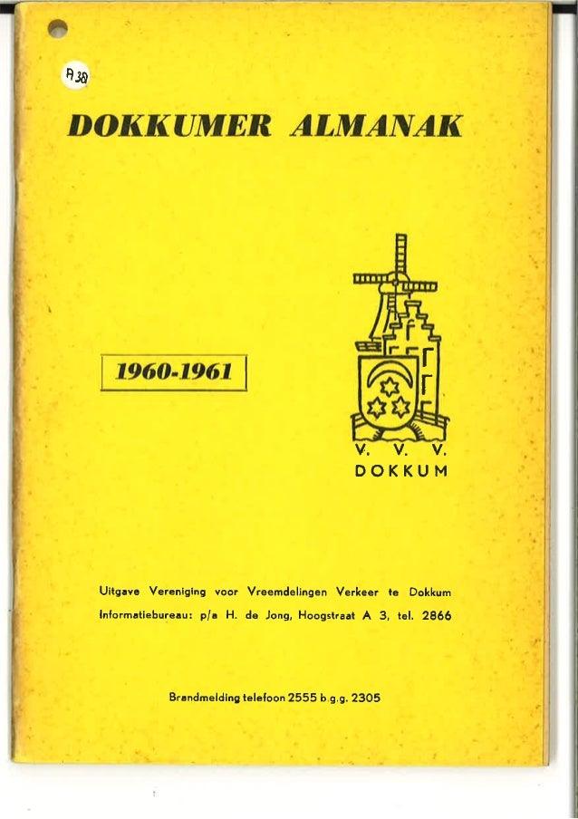 Dokkumer almanak 1960-1961