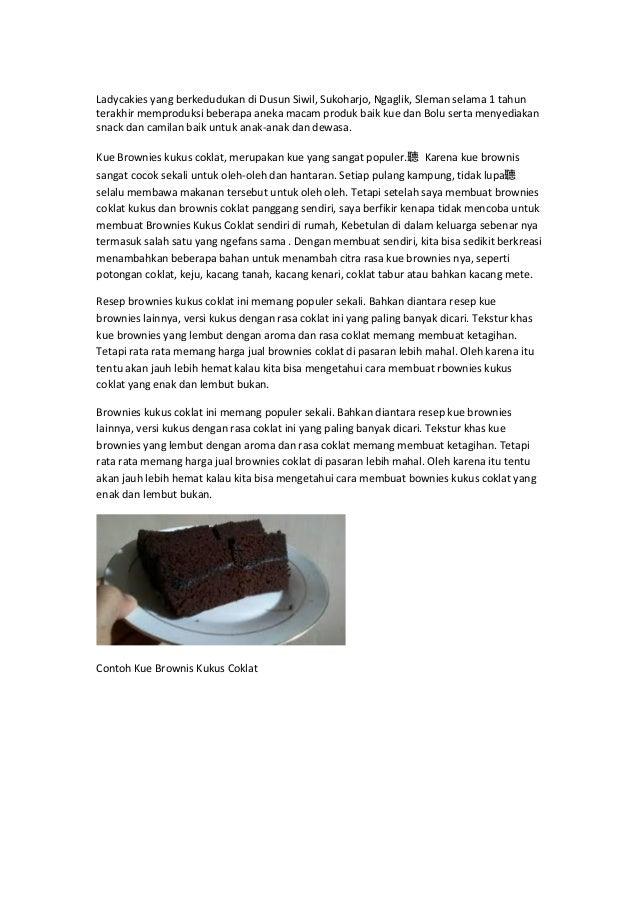 Resep Membuatmakanan Kue Indonesia Ppt Download