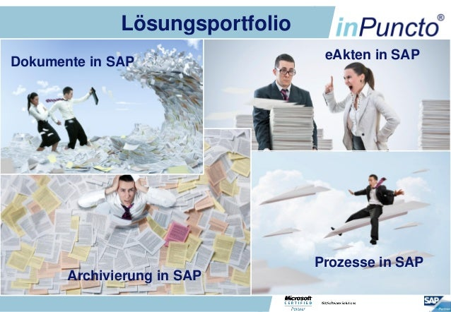 LösungsportfolioDokumente in SAP                            eAkten in SAP                                           Prozes...