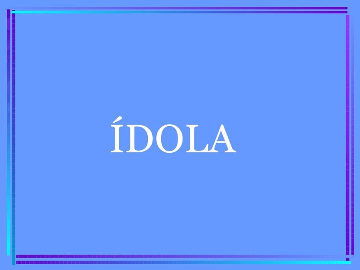 ÍDOLA