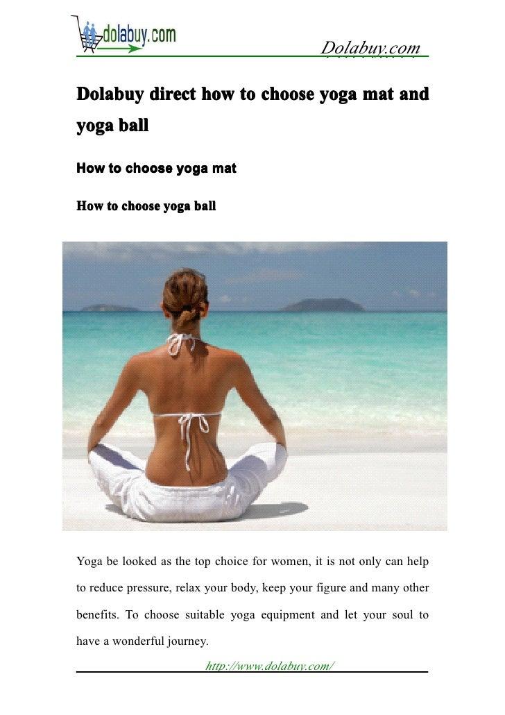 Dolabuy.com                                               . . . . . . ... . .Dolabuy direct how to choose yoga mat andyoga...