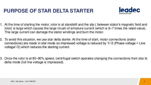 Dol and star delta