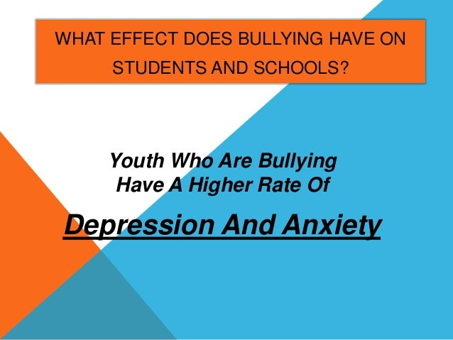 Adult Psychiatric Outcomes of Bullying and Being Bullied by Peers in Childhood and Adolescence