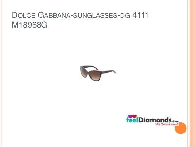 DOLCE GABBANA-SUNGLASSES-DG 4111  M18968G