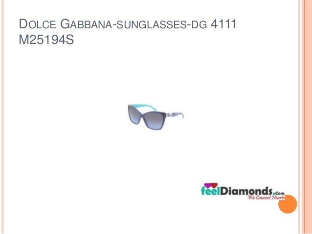 DOLCE GABBANA-SUNGLASSES-DG 4111  M25194S