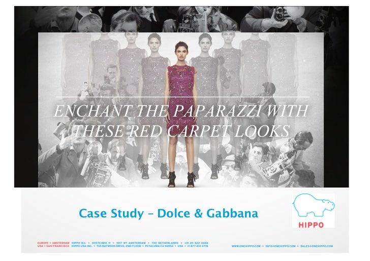 Case Study – Dolce & Gabbana