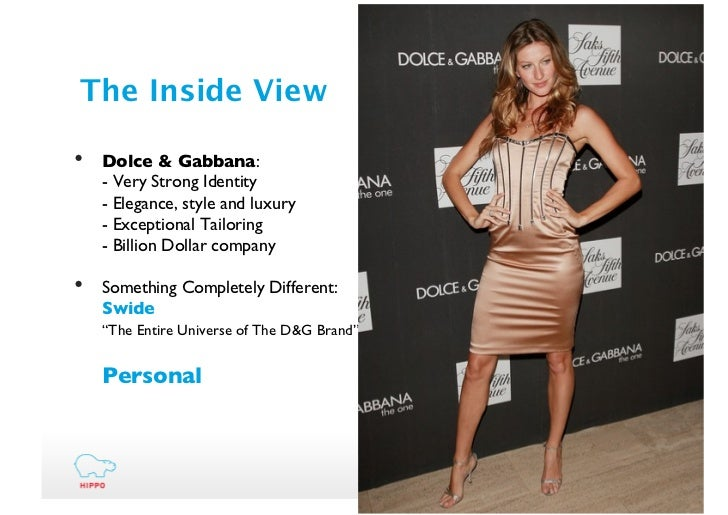 An analysis of the ethics and strategy of dolce gabbana