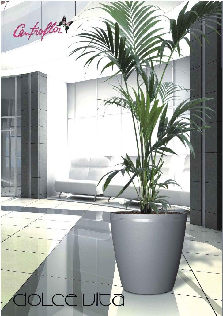 Vasos para Interiores com reserva de água