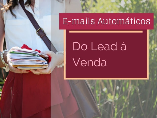 E-mails Automáticos Do Lead à Venda