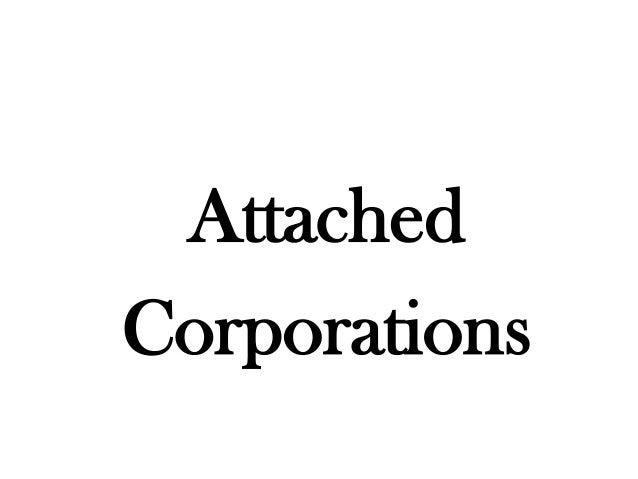 AttachedCorporations