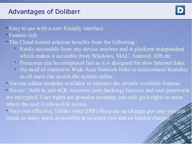 Dolibarr Erp Presentation