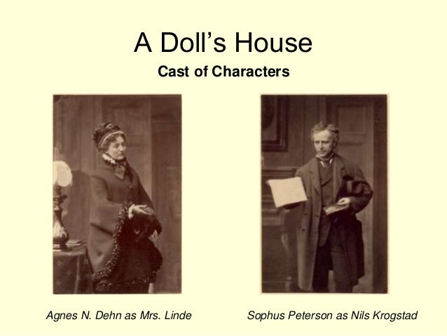 noras decision in a dolls house Nora is by far the most interesting character in the play many critics have pointed out that such an immature, ignorant creature could never have attained the.