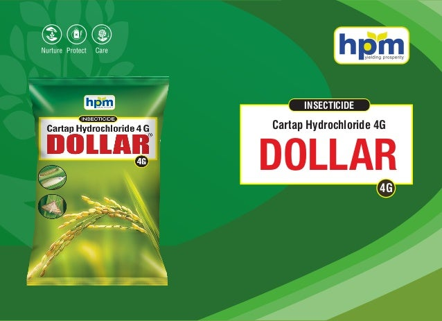 INSECTICIDE DOLLAR Cartap Hydrochloride 4G 4G