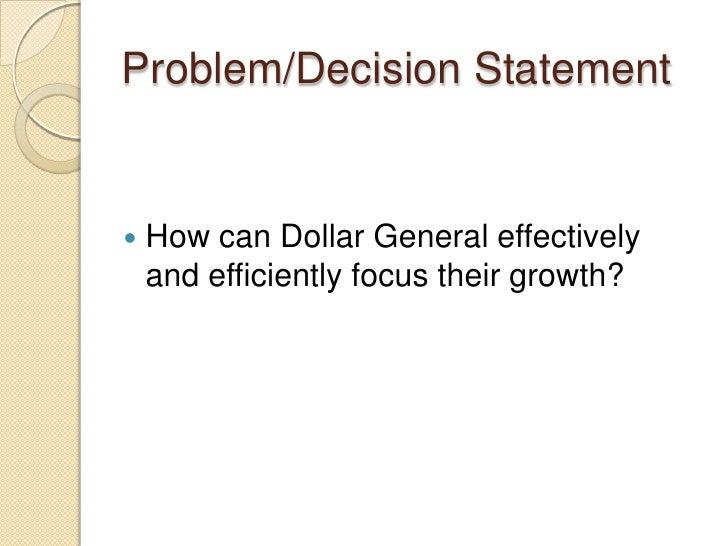 Dollar General Essay