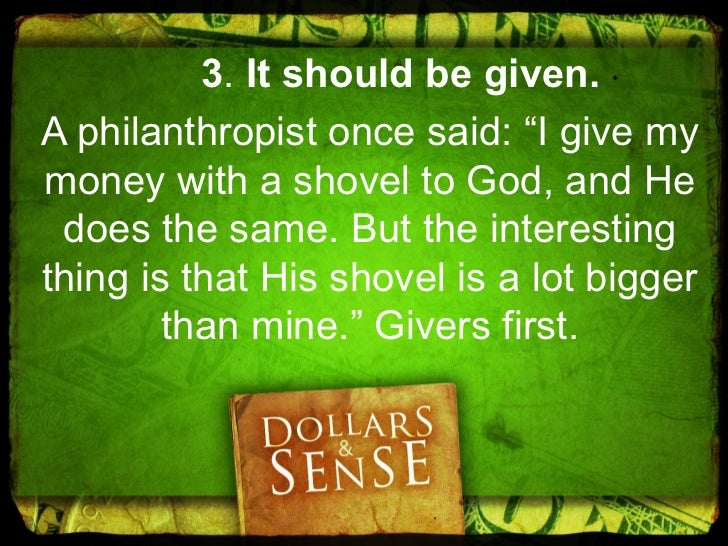 """4. It should be enjoyed.""""Moreover, when God gives any manwealth and possessions, and enables him to enjoy them, to accept ..."""