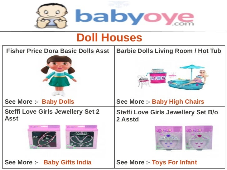 Doll HousesFisher Price Dora Basic Dolls Asst   Barbie Dolls Living Room / Hot TubSee More :- Baby Dolls               See...