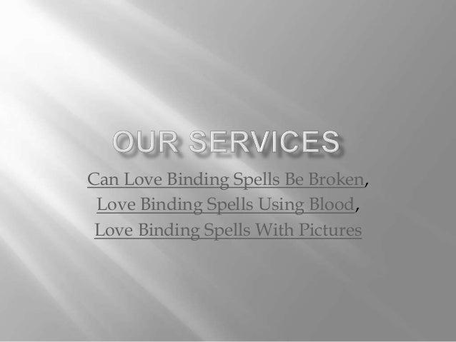 Love binding ritual