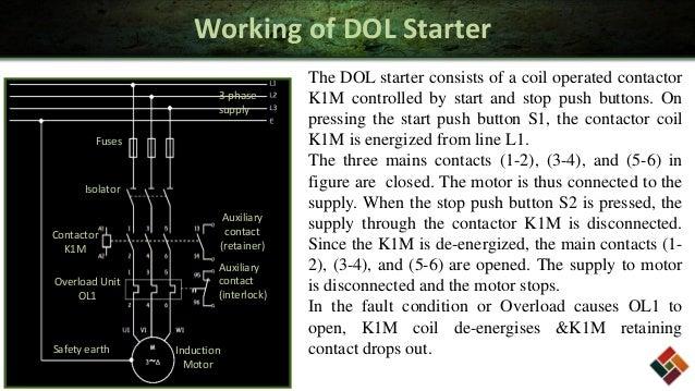 Working Of Dol Starter