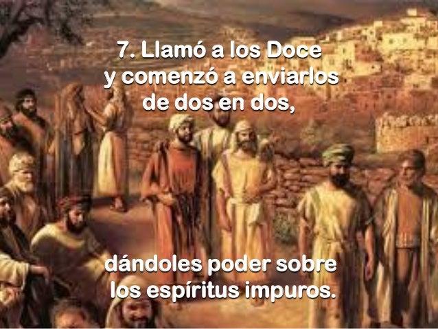 Resultado de imagen de Jesús llamó a los Doce y comenzó a enviarlos de dos en dos»