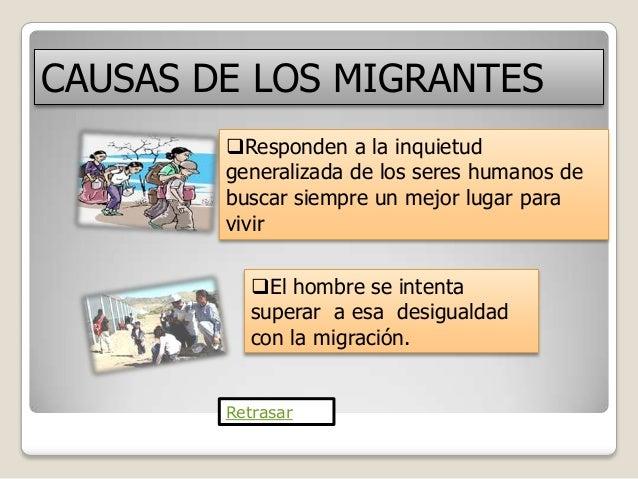 causas de la migracion yahoo dating