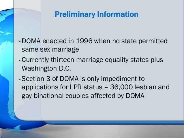 Immigration Options for LGBT foreign Nationals and Their ...