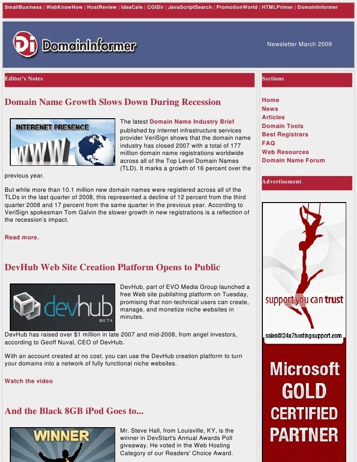 SmallBusiness | WebKnowHow | HostReview | IdeaCafe | CGIDir | JavaScriptSearch | PromotionWorld | HTMLPrimer | DomainInfor...
