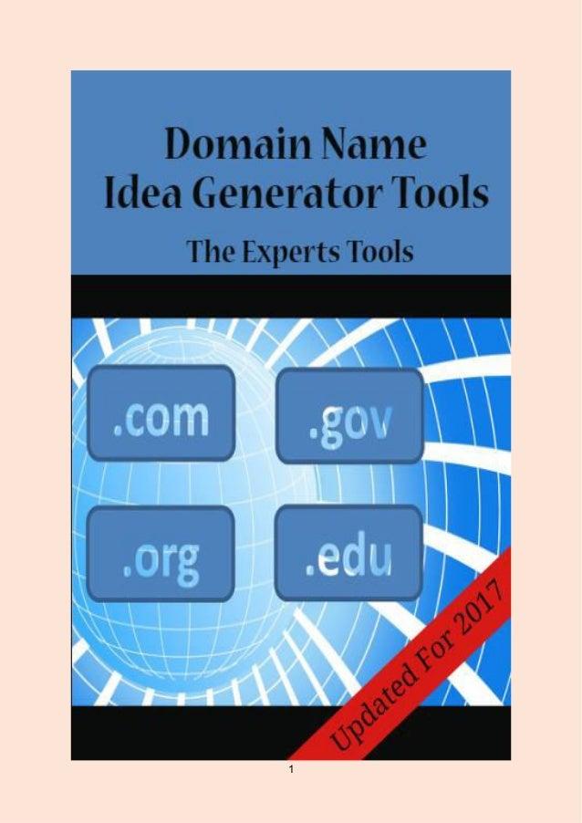 Top 14 Domain Name Idea Generator Tools