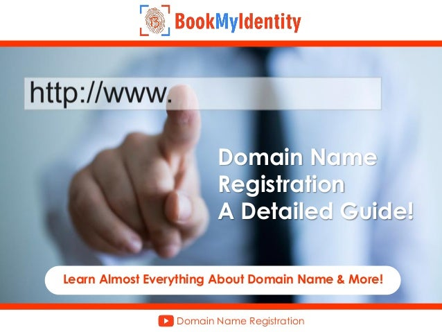 Domain name system explained.