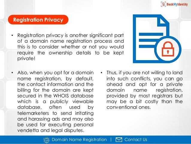 A basic guide to domain name registration process myhomebusinessblog.