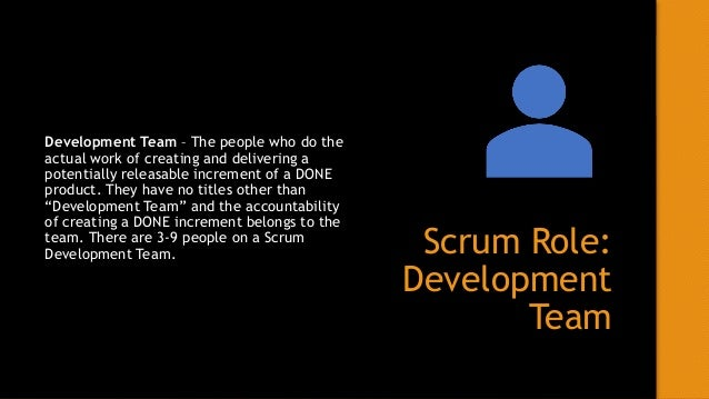 Scrum Role: Scrum Master Scrum Master – Responsible for ensuring the team understands Scrum. They are servant leader that ...